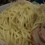 麺家 浜風 - 麺のアップ