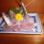萬年喜鮨 - 鯵の刺身