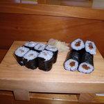 萬年喜鮨 - 小肌巻と鉄砲巻