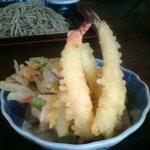 そば処 なかい - 天ぷら