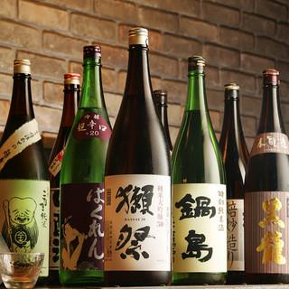 ◇日本酒・焼酎◆全国の地酒、希少焼酎各種取り揃えております◎