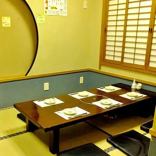 個室完備!シーンで選べる居心地のよい落ち着いた空間