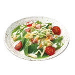 焼肉 宝島 - サイコロベーコンのシーザーサラダ