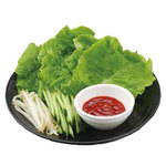 焼肉 宝島 - 巻き巻き野菜セット