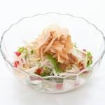 焼肉 宝島 - 大根サラダ