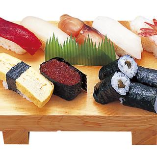 ≪タイムサービス≫老舗の職人寿司が850円で楽しめます◎