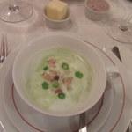 オ・タン・ペルデュ - グリーンピースのスープ