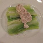 オ・タン・ペルデュ - ポロ葱の温製サラダ