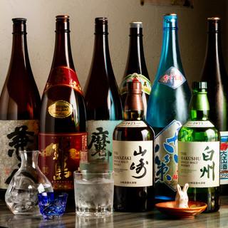 <焼酎・日本酒へのこだわり>