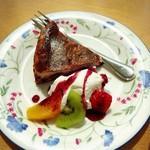 風の森 コスモポリタンカフェ - ベリーチーズケーキ