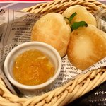 お米料理 リゾット☆スター - チーズポテトもち