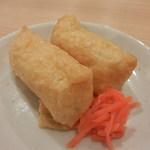 86081035 - 甘味控えめな稲荷寿司