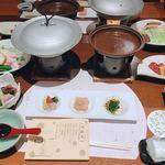 岩沼屋 - 料理写真:夕食