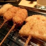 串カツうっでぃー - 料理写真: