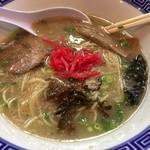 86085122 - 半替え玉+高菜+紅生姜+ごま