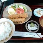 四川料理三笠 - 料理写真:イカフライライス550円