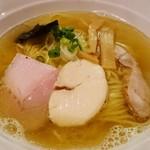 86085953 - 魚介スープのヒマラヤ岩塩ラーメン