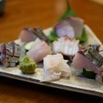 旬の魚菜 きり山 - 料理写真:お刺身の盛り合わせ
