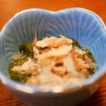 旬の魚菜 きり山 - イカめかぶ