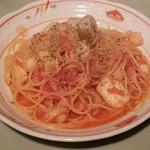86087798 - 漁師風シーフード(トマト味)