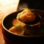 かなやまサルーン - 明石焼き アップ
