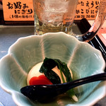 松葉寿司 - 付き出し
