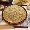 そば茶房 遊蕎 - 料理写真:季節の野菜天せいろの大盛りです。
