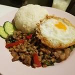 アジアン キッチン カフェ ももふく - 料理写真:ガパオライス