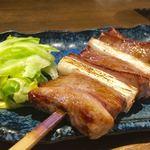 小滝野 - タン焼き 3,200円