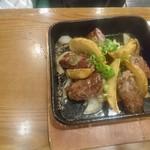 86096136 - 牛肉と大根おろし焼き