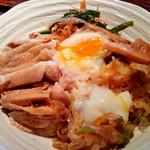 86096860 - 「蒸し鶏とこがし葱香味ソースご飯」