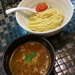 86097325 - 牛肉汁つけ麺(小盛)680円
