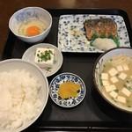 よしだ屋食堂 - 料理写真:サバの焼魚定食=650円