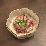 たかくら - 桜肉のたたき
