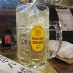酒肴わらい屋 - ハイボールは江井ヶ島酒造のあかしを使用