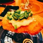 串揚げ 月のなごみ - 絶品!牡蠣の串揚げ