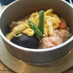 かまよし - 料理写真:かまよしランチ 五目釜めしアップ