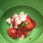 86102321 - トマトと苺のカッペリーニ