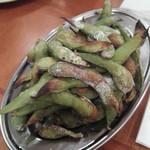 恵比寿 マルヒ - 焼き枝豆