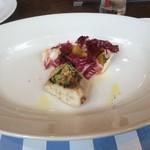 Trattoria LOGIC - 魚料理 黒鯛の香草パン粉焼き