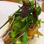 ル・トリスケル - 鮎と山菜