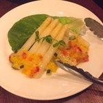 86105778 - ホワイトアスパラ野菜ジュレソース