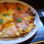 吾作 - 確かにピザ旨い・・・