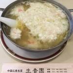 生香園 - カニ肉入り煮込み麺