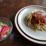 梨の木 - ミートソーススパゲティ