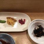 いずみ田 - 先付と小鉢