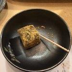 いずみ田 - 最後の一口わらび餅