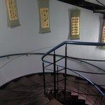 北京老舗 - 螺旋階段で2Fへ