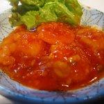 北京老舗 - 海老のチリソース煮