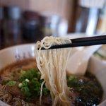 中華・麺や あじよし - 中華・麺や あじよし ラーメンの麺